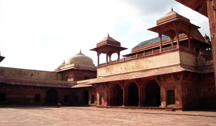 Jodha-Bai-Palace-Fatehpur-Sikri