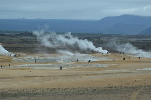 Hverarond Sulphur Field